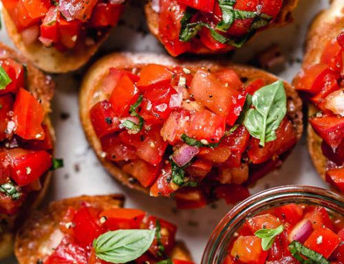 Citrusy Bud Bruschetta