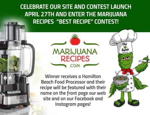 MarijuanaRecipes.com Recipes Contest