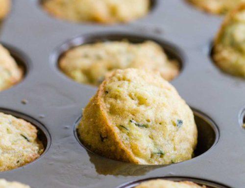 Cannabutter Zucchini Muffins